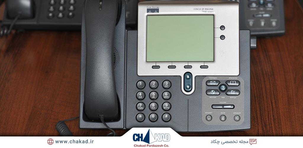 امکانات تلفن های IP