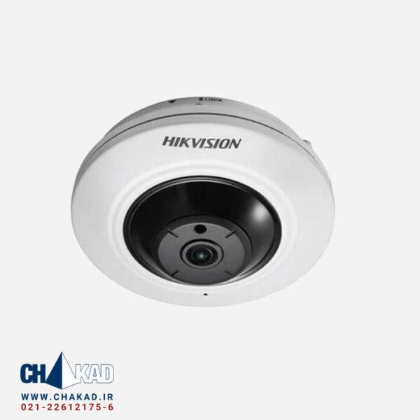 دوربین فیش آی 5 مگاپیکسل هایک ویژن مدل DS-2CD2955FWD-IS