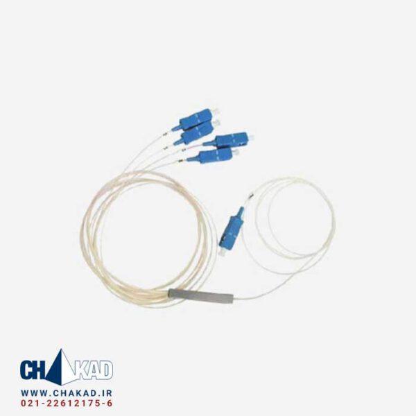 اسپلیتر فیبر نوری 1 به 4 قلمی UPC