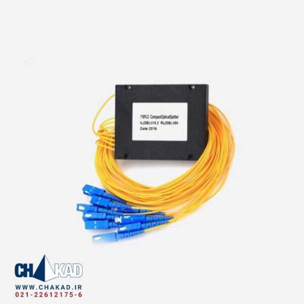 اسپلیتر فیبر نوری 1 به 8 کاستی UPC