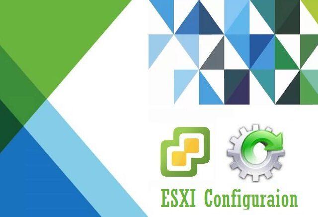 تنظیمات شبکه ماشین های مجازی در ESXI