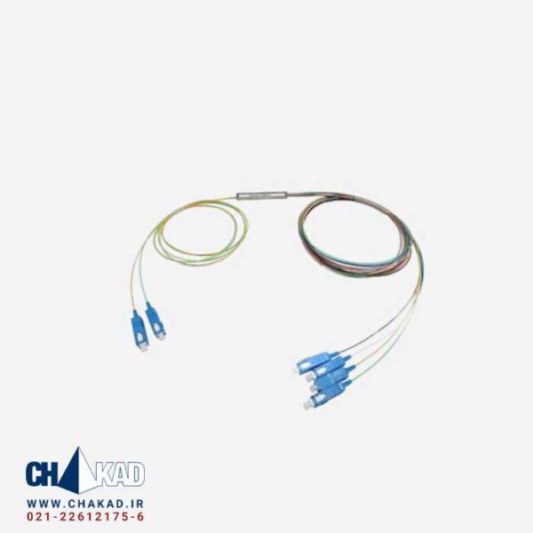 اسپلیتر فیبر نوری 2 به 4 قلمی UPC