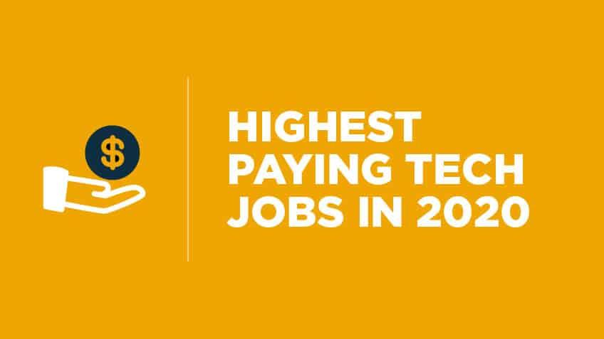 پر در آمد ترین شغل های متخصصین حوزه IT در سال 2020
