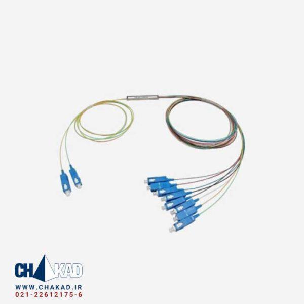 اسپلیتر فیبر نوری 2 به 8 قلمی UPC