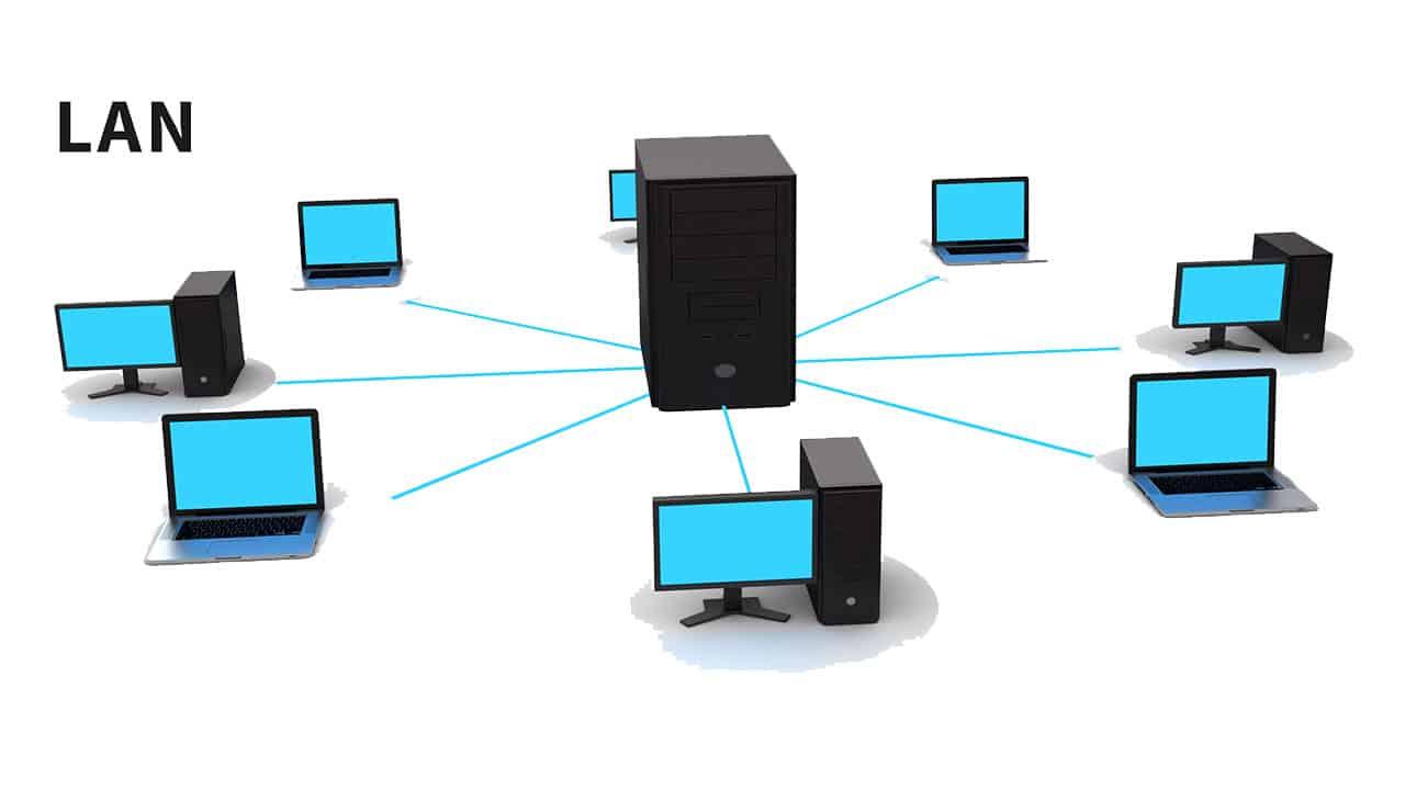 تفاوت های شبکه های کامپیوتری LAN و MAN و WAN